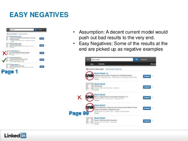 EASY NEGATIVES  2 pages  •  90+ pages  Use strategies that sample across the feature space • Searches with less results pr...