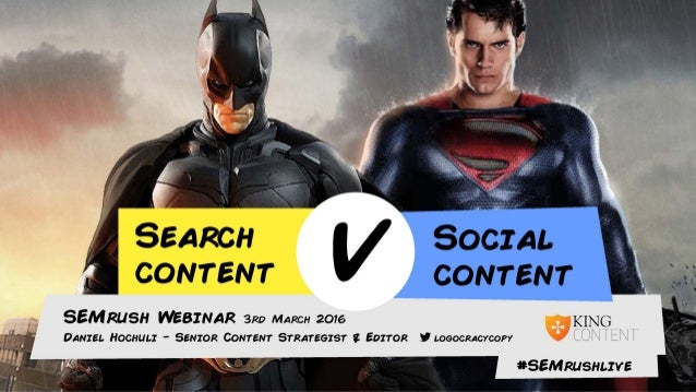 "Questions at #SEMrushlive ""Search v Social"" @logocracycopy"
