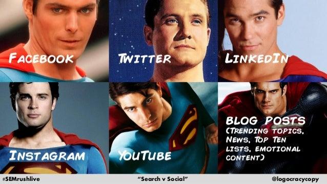Search Content vs. Social Content Slide 17
