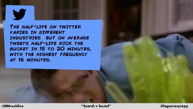 Search Content vs. Social Content Slide 18