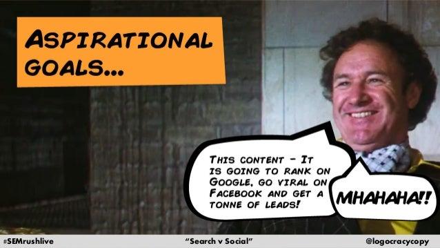 Search Content vs. Social Content Slide 5