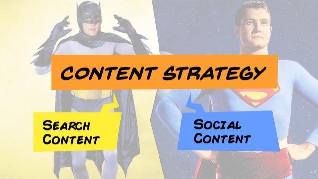 Search Content vs. Social Content Slide 8