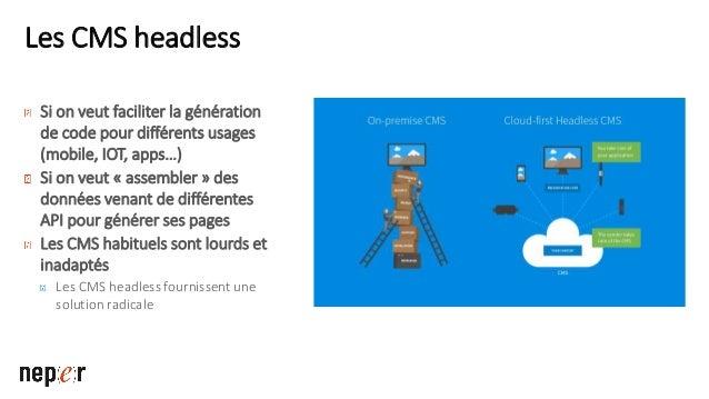 Les sites « serverless » Plus de serveurs En réalité, il y'a toujours des serveurs derrière, mais ce n'est plus votre prob...