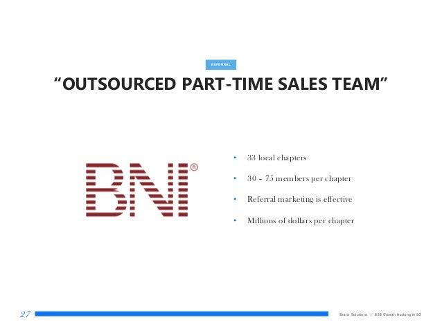 """""""OUTSOURCED PART-TIME SALES TEAM"""" Searix Solutions 