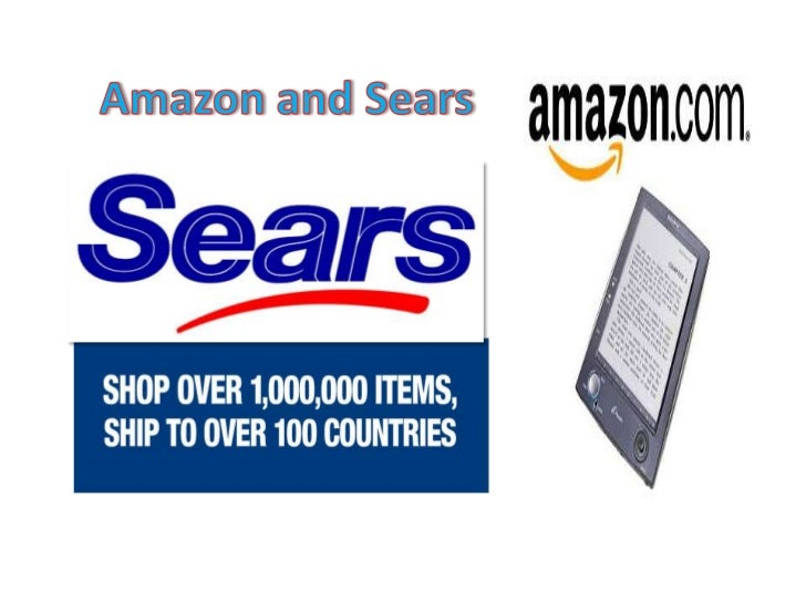 SEARSAMAZONBooks                  ApparelWatches, electronics   JewelryJewelry                Tools and more…
