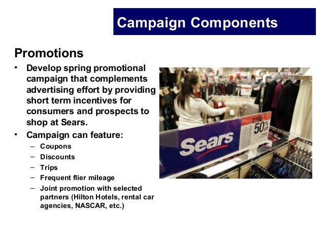 sears case study Free essay: in a survey of business leaders, sears management was ranked 487 out of 5003 it was no secret that the company's performance was poor, both in.