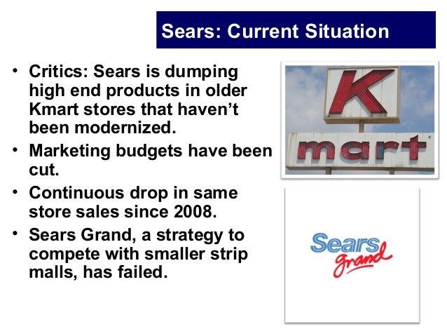 Sears case study  Slide 3