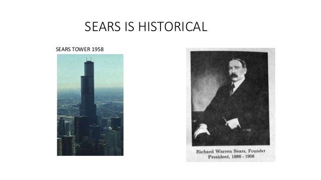 SEARS IS HISTORICAL SEARS TOWER 1958