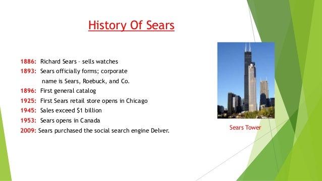 Sears, roebuck & co Slide 3