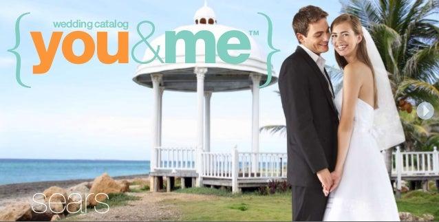 Sears Wedding Registry Online Catalog Oct 2010