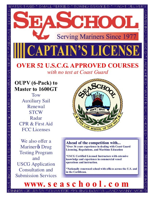 School Sea School Captain's Captain's License Sea School Captain's License School Sea License Sea