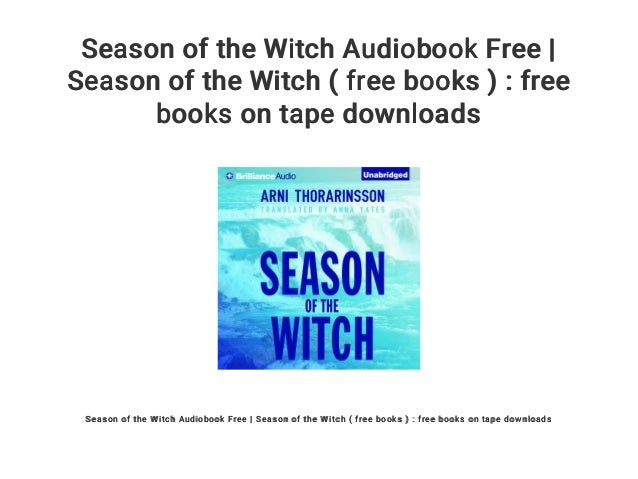 Season of the Witch Audiobook Free | Season of the Witch