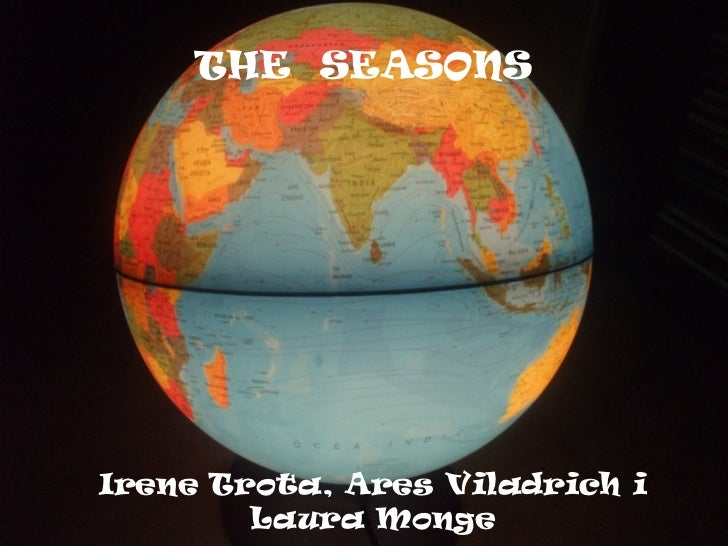 THE  SEASONS Irene Trota, Ares Viladrich i Laura Monge
