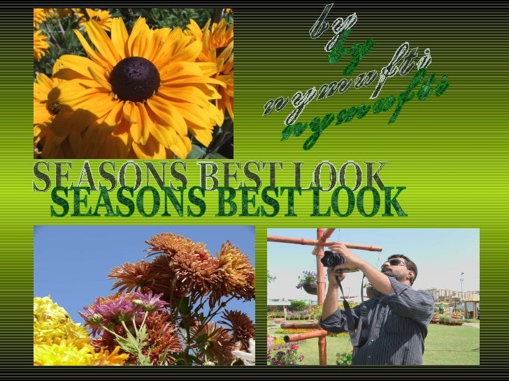 SEASONS BEST LOOK by nymufti