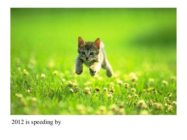 2012 is speeding by