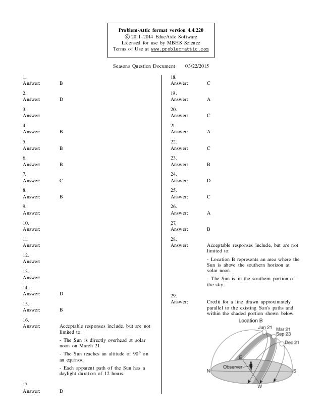 Problem-Attic format version 4.4.220 c_ 2011–2014 EducAide Software Licensed for use by MBHS Science Terms of Use at www.p...