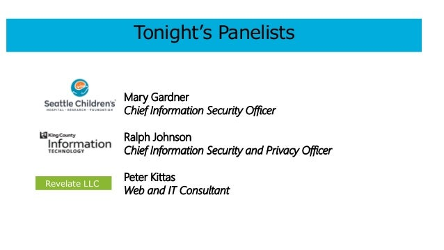 Seattle Tech4Good meetup: Data Security and Privacy Slide 2