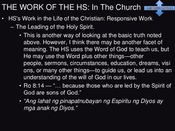 Baptism of             Holy Spirit     Holy Spirit       Holy Spirit      Pentecost                                       ...