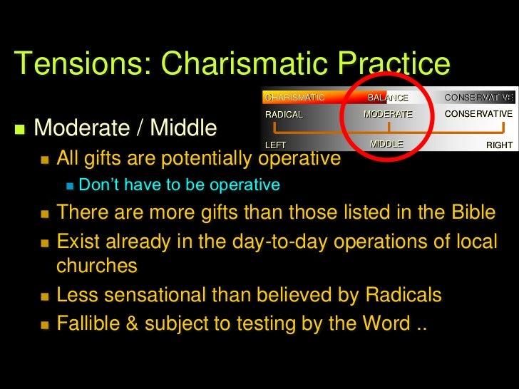 Tensions: Charismatic Practice   Sino ang tama?   Sino ang mali?   Nasaan ba tayo? .CHARISMATIC         BALANCE      CO...
