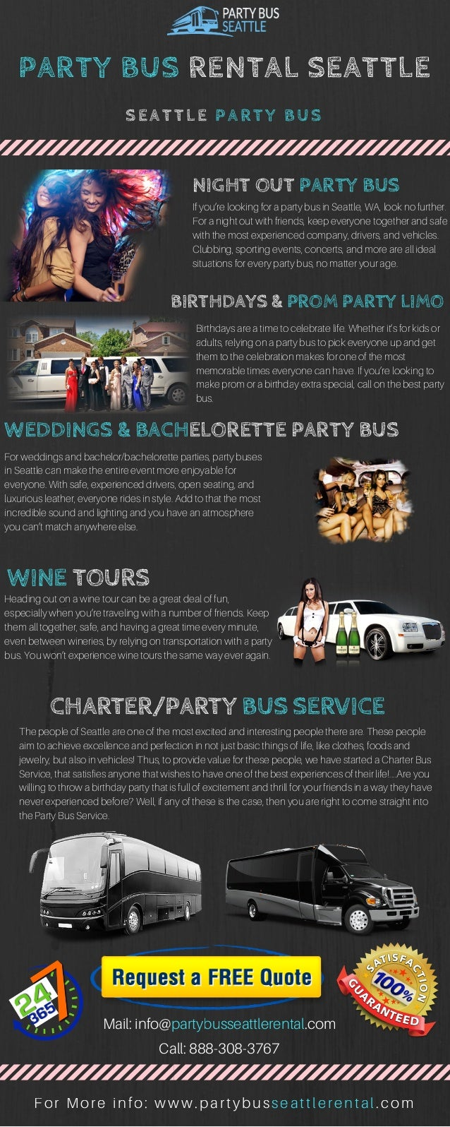 PARTY BUS RENTAL SEATTLE NIGHT OUT If Youre Looking