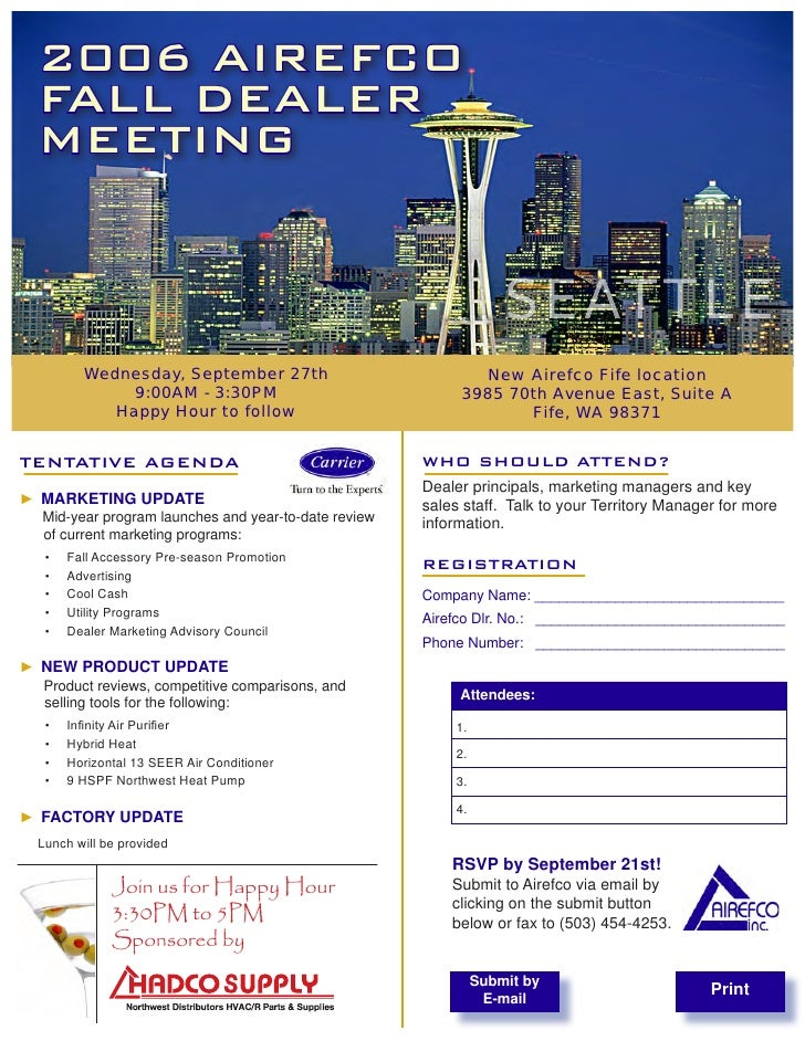 2006 AIREFCO   FALL DEALER   MEETING                                                                       SEATTLE        ...