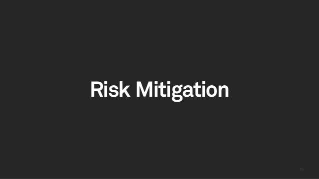 1515 Risk Mitigation