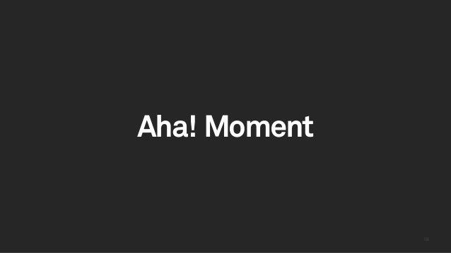 1818 Aha! Moment