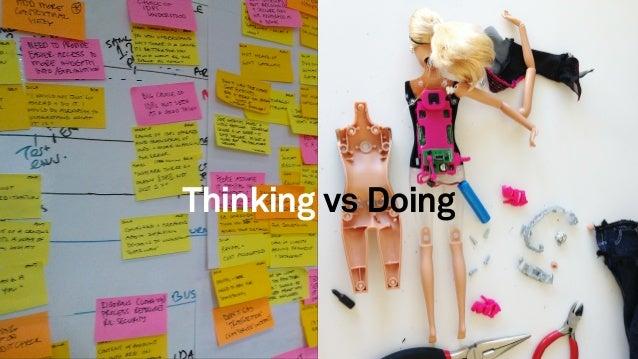 23 Thinking vs Doing