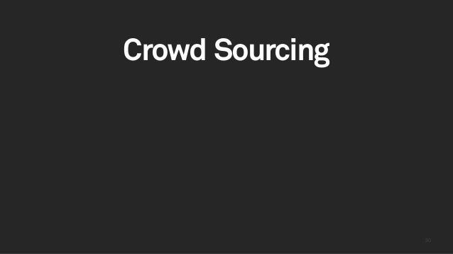 3030 Crowd Sourcing