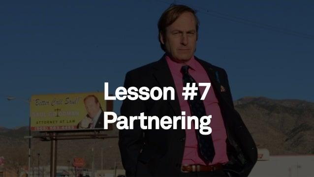 78 Lesson #7 Partnering