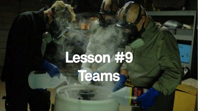 82 Lesson #9 Teams
