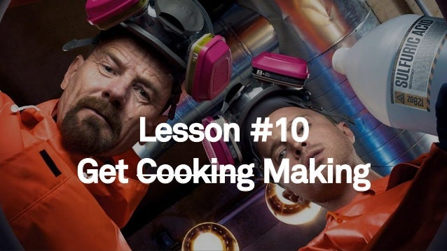 84 Lesson #10 Get Cooking Making