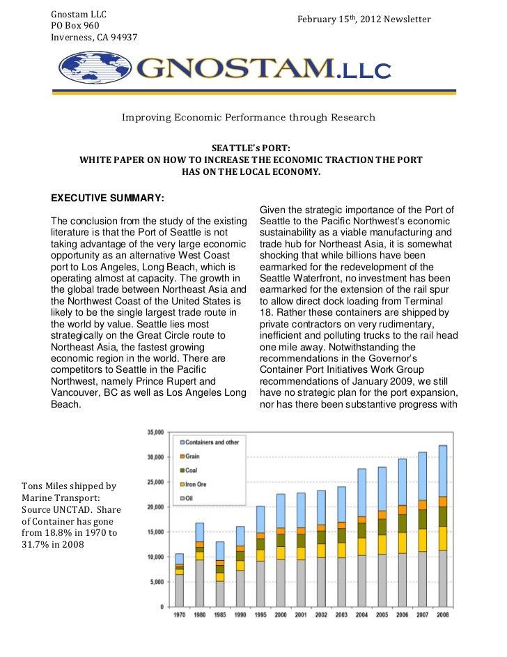 Gnostam LLC                                               February 15th, 2012 Newsletter      PO Box 960      Inverness, C...