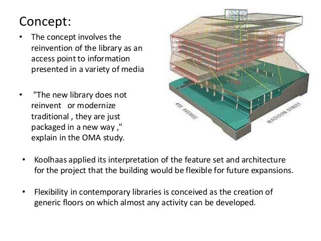 Seattle Central Library Diagram