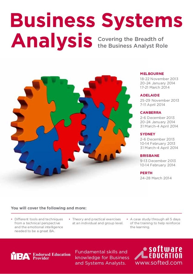 business analyst courses