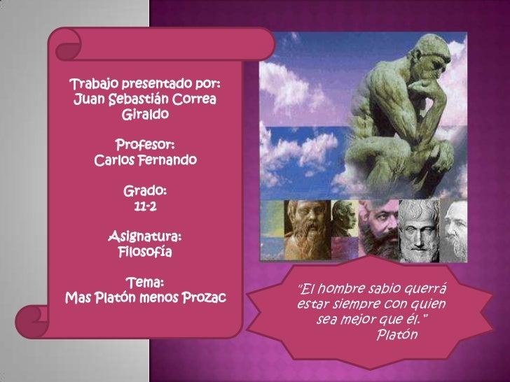 Trabajo presentado por:<br />Juan Sebastián Correa Giraldo<br />Profesor:<br />Carlos Fernando<br />Grado:<br />11-2<br />...