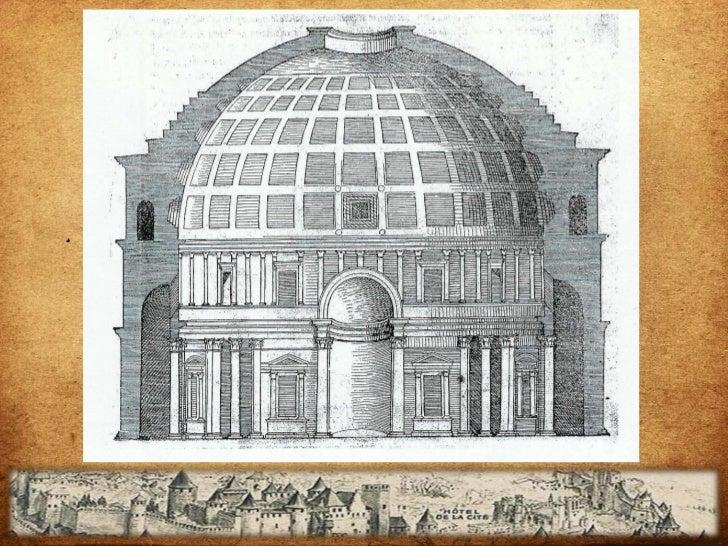 LIBRO IV Las cinco maneras de edificar Los ornamentos    Serlio estudio los estilos de columnas apoyándose en las    rui...