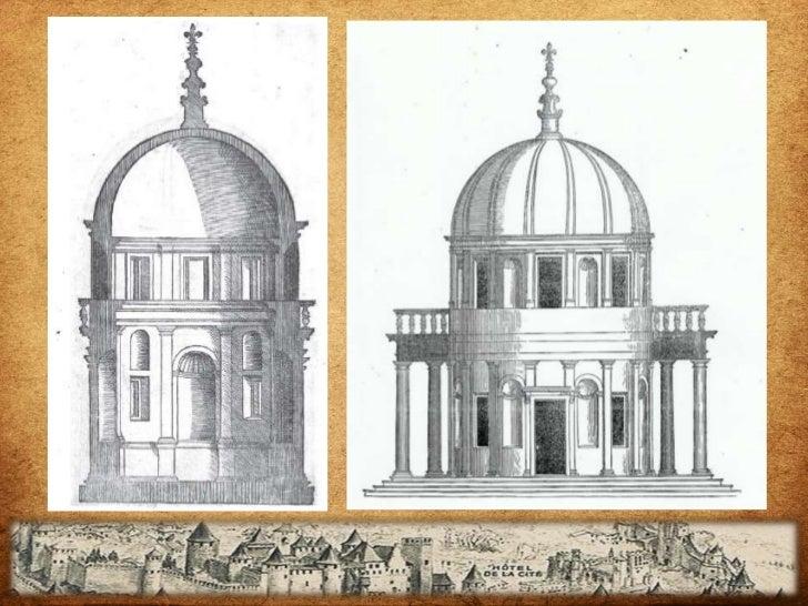    Los órdenes toscano y dórico son    los más simples y se empleaban en    exteriores, especialmente en los    templos d...