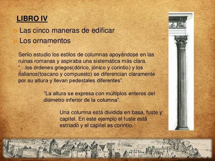 LIBRO V En el 5º hablaré de los tipos de templos diseñados en sus diversas formas : como en el redondo, cuadrado, de seis ...