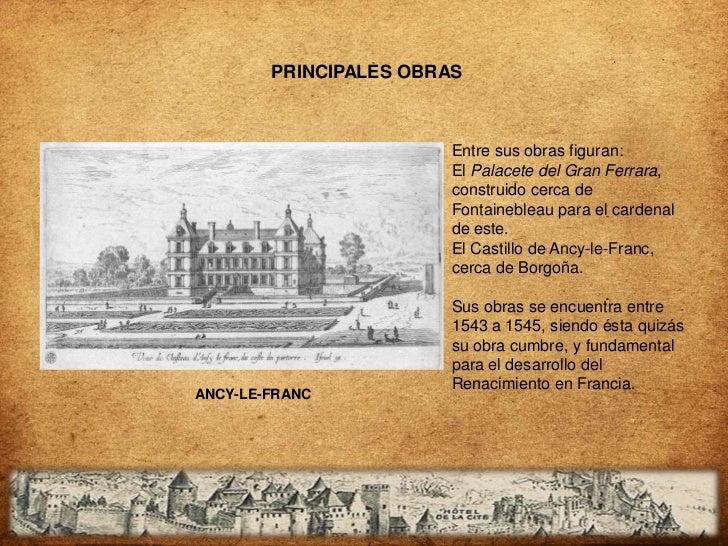 PRINCIPALES OBRAS                        Entre sus obras figuran:                        El Palacete del Gran Ferrara,    ...