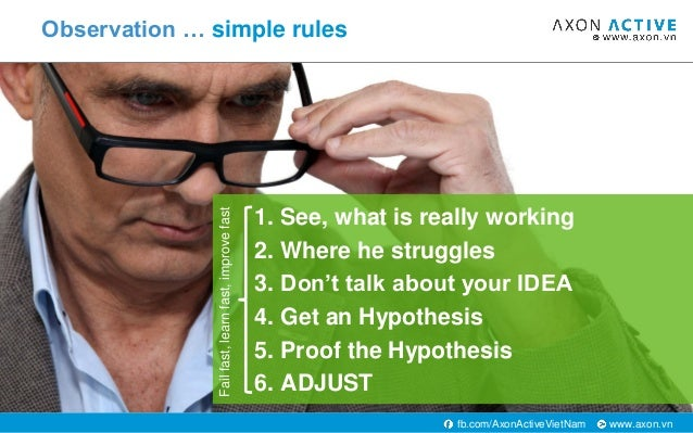 www.axon.vnfb.com/AxonActiveVietNam 1. See, what is really working 2. Where he struggles 3. Don't talk about your IDEA 4. ...