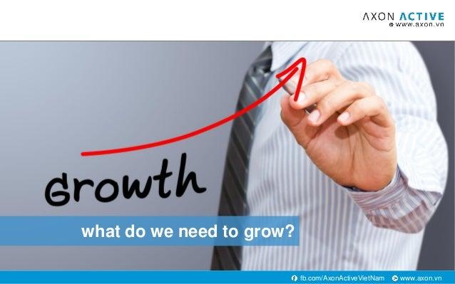www.axon.vnfb.com/AxonActiveVietNam what do we need to grow?