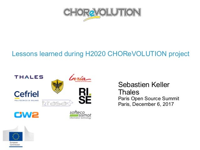 Lessons learned during H2020 CHOReVOLUTION project