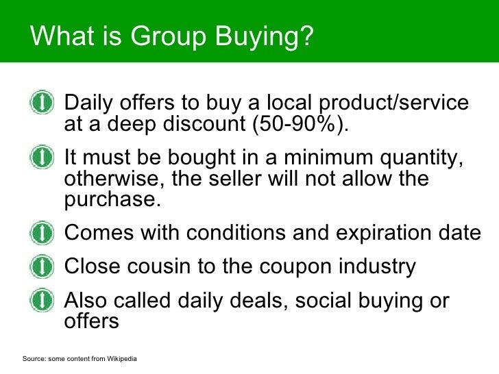 Is Group Buying a Fad or a Revolutionary New Local Advertising Vehicle? Slide 2