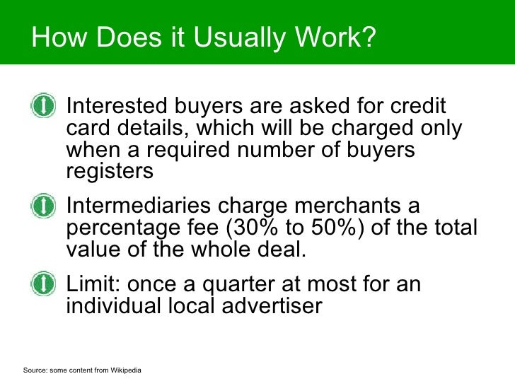 Is Group Buying a Fad or a Revolutionary New Local Advertising Vehicle? Slide 3