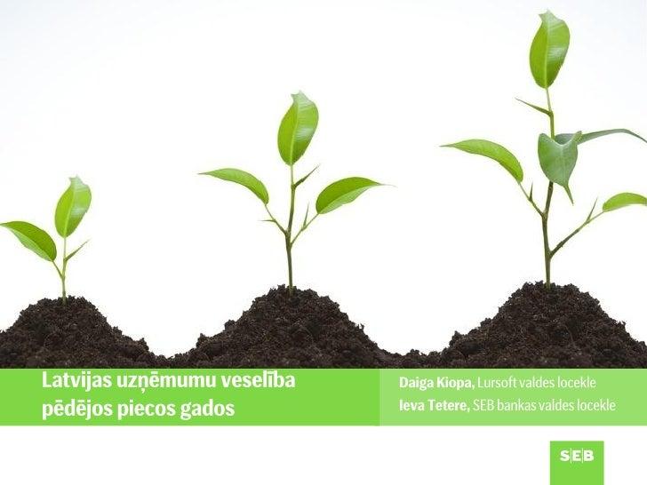 Apgrozījuma dinamika pa nozarēm (%)5040302010 0-10    2007         2008         2009      2010        2011-20-30-40-50 Lau...