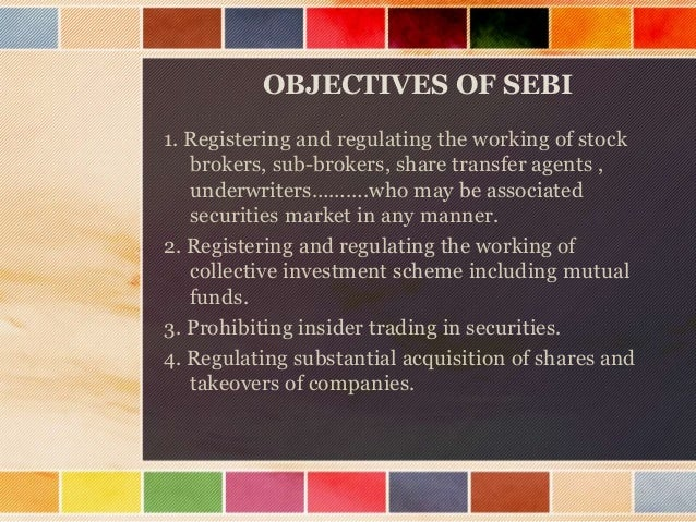 Contd…… • 5. Calling for information from ,undertaking inspection ,conducting inquiries and audits of stock exchanges and ...