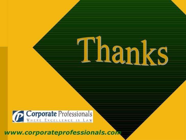 Thanks www.corporateprofessionals.com