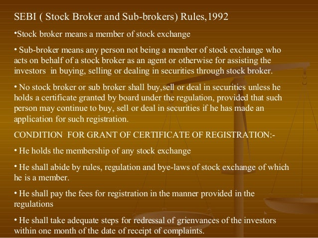 SEBI Guidelines | Fresh capital Share | Primary & secondary markets