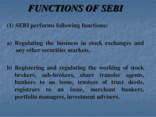 Securities and Exchange Board of India
